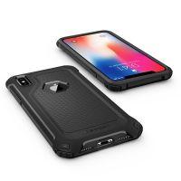 Чехол Spigen Rugget Armor Extra для iPhone X черный
