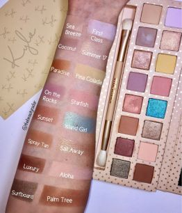 Палитра теней KYLIE Cosmetics Take Me On Vacation Eyeshadow Palette