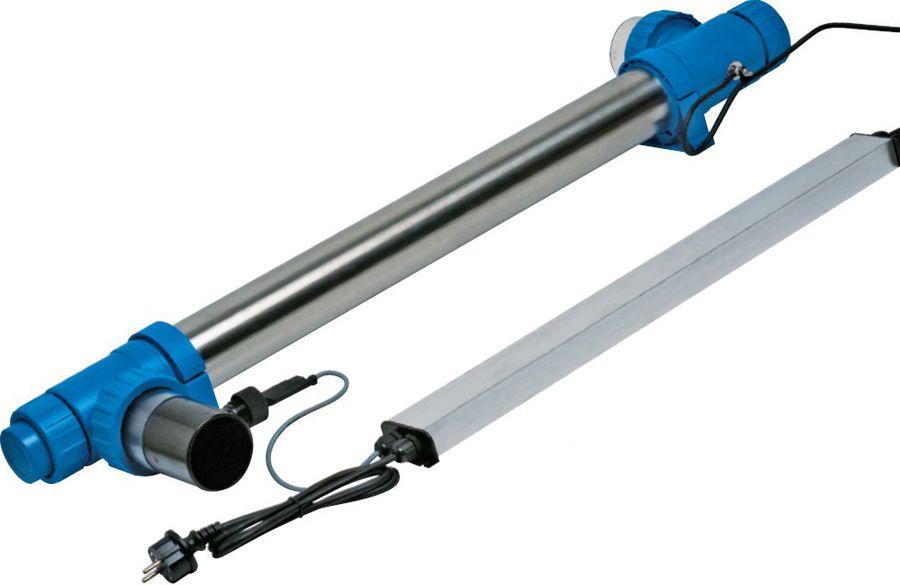 Амальгамная ультрафиолетовая установка Blue Lagoon UV-C Amalgam 150000 с датчиком потока