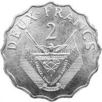 Руанда 2 франка 1970 г.
