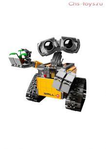 Конструктор LELE Ideas ВАЛЛ-И 39023 (Аналог LEGO Ideas 21303) 687 дет