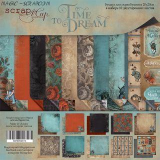 "Набор двусторонней бумаги 20х20см от Scrapmir ""Time to Dream"""