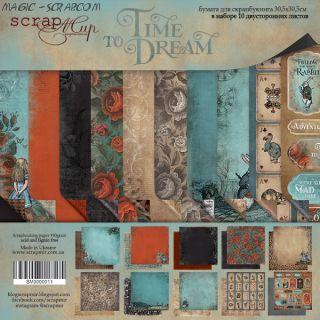 "Набор двусторонней бумаги 30х30см от Scrapmir ""Time to Dream"""