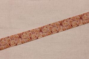 Лента репсовая с рисунком, ширина 22 мм, длина 10 метров, Арт. ЛР5636