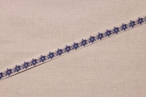Лента репсовая с рисунком, ширина 10 мм, длина 10 метров