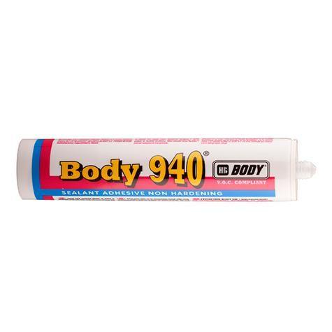 HB Body Герметик-картридж 940 черный, объем 300мл.