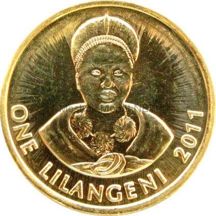 Свазиленд 1 лилангени 2015 г.