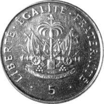 Гаити 5 сентим 1997 г.