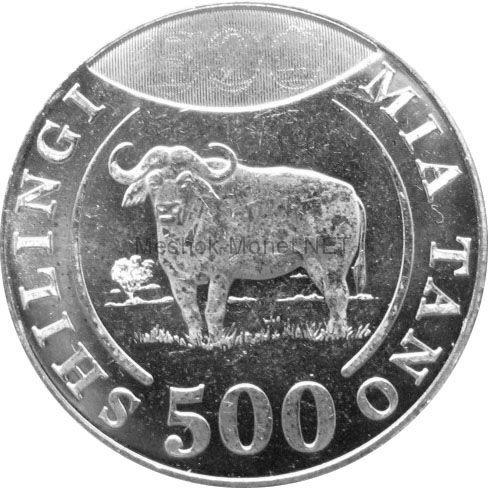 Танзания 500 шиллингов 2014 г.