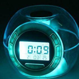 Часы со звуками природы и подсветкой