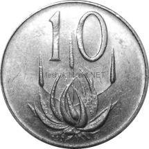 ЮАР 10 центов 1976 г.