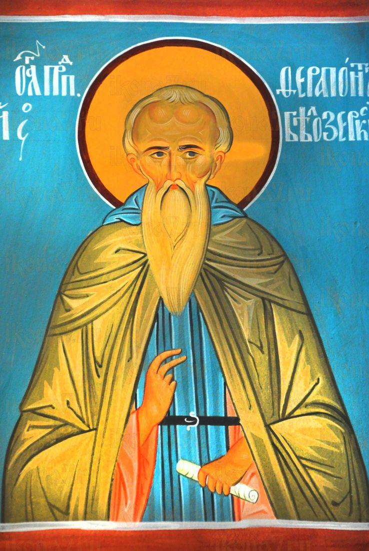 Ферапонт Белоезерский (Можайский) (рукописная икона)