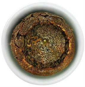 Пуэр в мандарине, элитный китайский чай, 30 гр