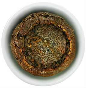 Шу Пуэр в мандарине, 30 гр