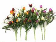 Искусственные букеты тюльпанов 5 голов