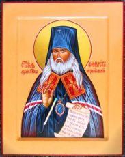 Филарет Черниговский (рукописная икона)