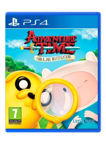 Игра Adventure Time Finn & Jake Investigations (PS4)