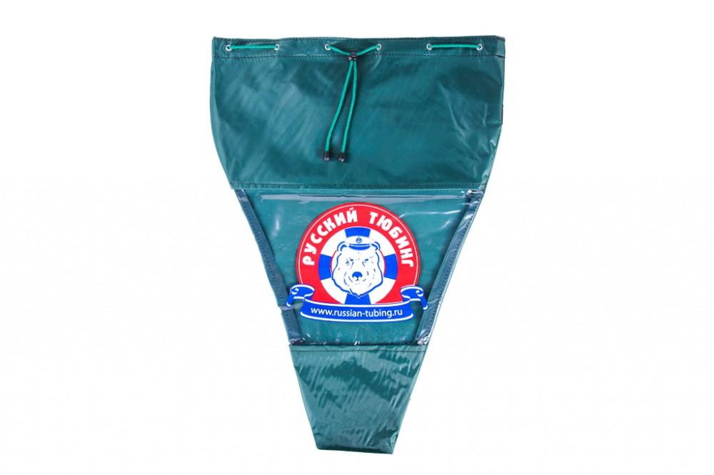 Фирменная сумка для хранения тюбинга зеленая