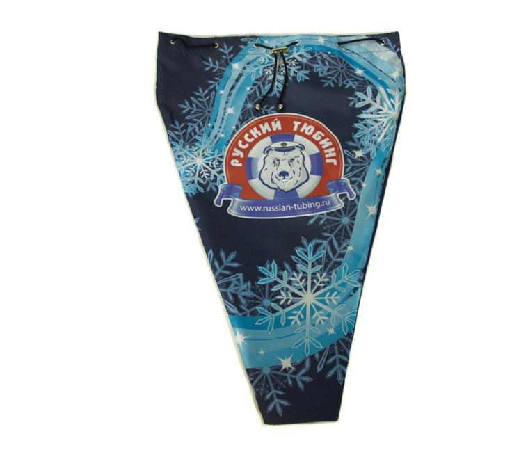 Фирменная сумка для хранения тюбинга синяя полноцвет