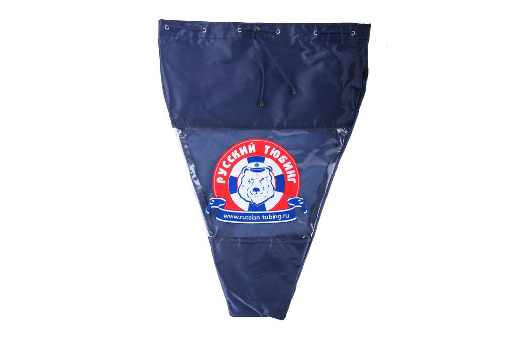 Фирменная сумка для хранения тюбинга синяя