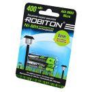 "Аккумулятор AAA ""Robiton"" 400 mAh 1.2v"
