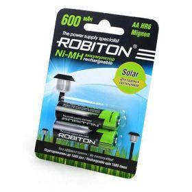 """Аккумулятор AA """"Robiton"""" 600 mAh 1.2v"""