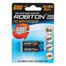 "Аккумулятор AAA ""Robiton"" 600 mAh 1.2v"