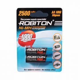 """Аккумулятор AA """"Robiton"""" 2500 mAh 1.2v"""