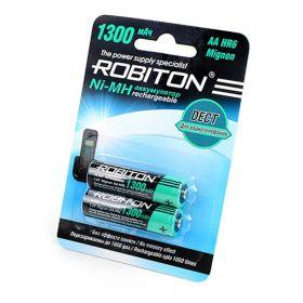 """Аккумулятор AA """"Robiton"""" 1300 mAh 1.2v"""