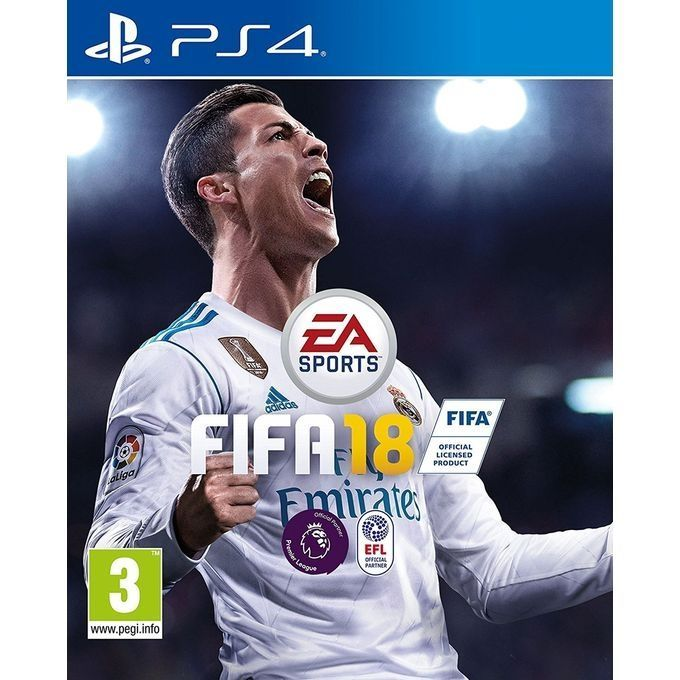 Игра Fifa 18 (PS4, русская версия)