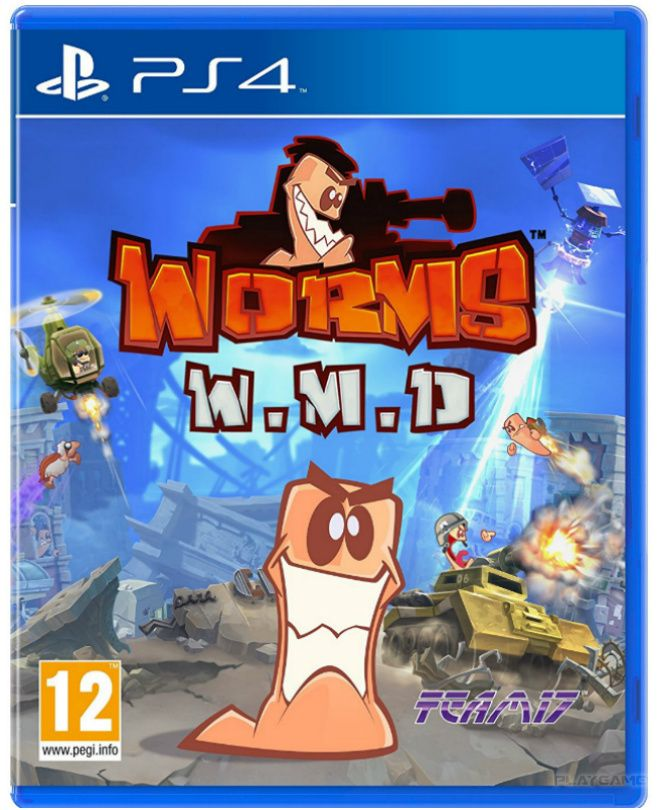 Игра Worms W.M.D. All Stars (PS4)