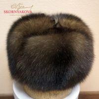 Пример мужской шапки из соболя на заказ