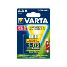 """Аккумулятор AAA """"Varta"""" 800 mAh 1.2v"""