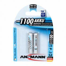 """Аккумулятор AAA """"Ansmann"""" 1100 mAh 1.2v"""