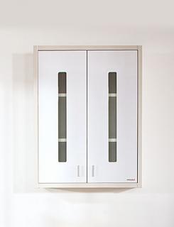 Шкаф навесной для ванной комнаты Бриклаер Бали 65