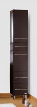 Пенал для ванной комнаты Бриклаер Чили 34 R/L, венге