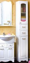 Пенал для ванной комнаты Бриклаер Анна 32, белый