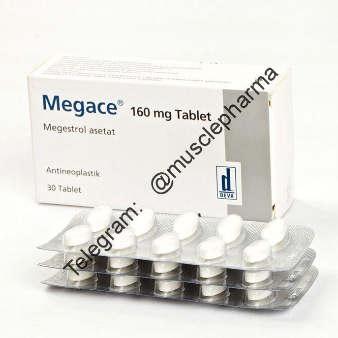 Megace (DEVA,Турция). 30 табл. по 160 мг
