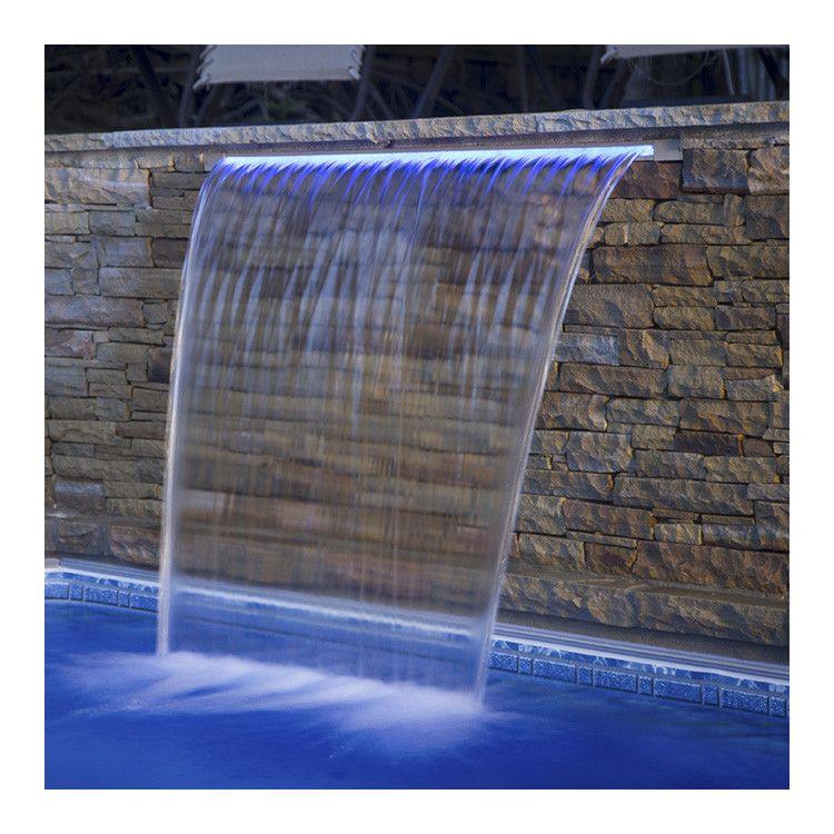 Стеновой водопад Aquaviva PB с LED подсветкой