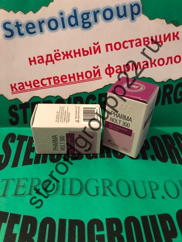 PHARMANOLT 300 (Pharmacom Labs) Mix of Nandrolones - 300mg/ml 10ml