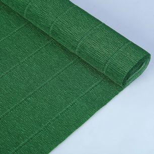 №561 Гофр.бумага (темно-зелёная)