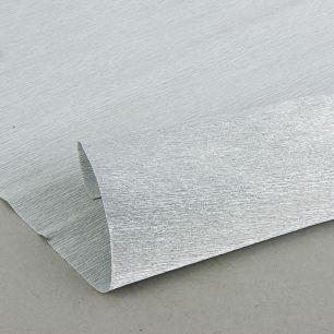 №802 металл Гофр.бумага (серебро металл)