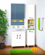 Комплект мебели для ванной комнаты Бриклаер Аргентина 65