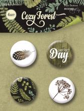 "Набор скрап-фишек Scrapmir ""Cozy Forest"""