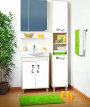 Комплект мебели для ванной комнаты Бриклаер Аргентина 75