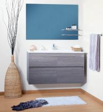 Комплект мебели для ванной комнаты Бриклаер Мадрид 110
