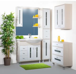 Комплект мебели для ванной комнаты Бриклаер Бали 90