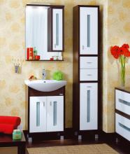 Комплект мебели для ванной комнаты Бриклаер Бали 60