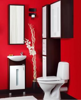 Комплект мебели для ванной комнаты Бриклаер Бали 40
