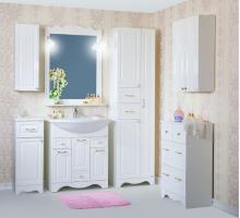 Комплект мебели для ванной комнаты Бриклаер Анна 75